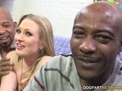 Real debutante sucking oldmans cock pov and gets cum on face Thumb