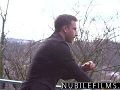 Jerking off his big dick by the falls - PUNAMI FILMS Thumb