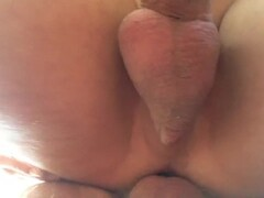 Petite shaved babe fucked in 3some with blonde mature woman Thumb