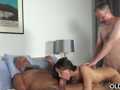 PrivateCom - Alyssa Reece & Amaris XXX Double Team A Cock! Thumb