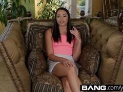 Amateur Asian Hottie Toying Thumb