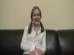 German teen on the castingcouch Thumb