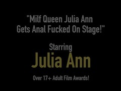Milf Queen Julia Ann Gets Anal Fucked On Stage! Thumb