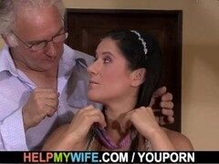 Old man asks him fuck young wife for money Thumb
