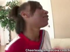 Ebony Cheerleader Nevahe Givens Thumb