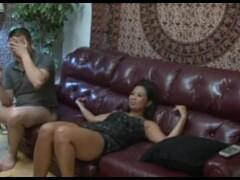 CUCKOLD ASIAN WIFEY AND BIG BLACK DICK Thumb