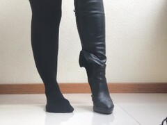 Boots Domination and Ruined Orgasm. POV. Thumb