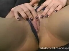Hot Dirty Talking Asian in Wet Orgasmic Action Thumb