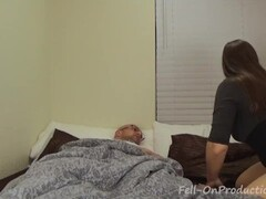 Horny Mom Blackmails StepSon Thumb
