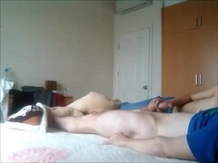 Girlfriend gives me an amazing sensual blowjob on a lazy day (cum on hands) Thumb