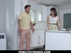 FamilyStrokes - Nova Cane Gets Filled By Her StepCousins Cock Thumb