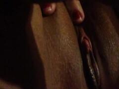 Pussy fingering Thumb