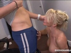 Blonde Milfs Punishment And Domination On Programmer Thumb