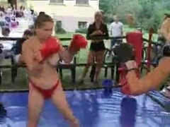 Olenia vs Irina Topless Boxing Until Knockout Thumb