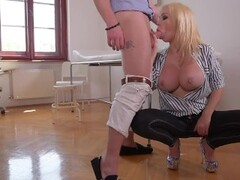 Last Minute - Hardcore Titty Fuck in Doctor's Office Thumb