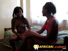 Bubble butt African chicks going lesbian today Thumb