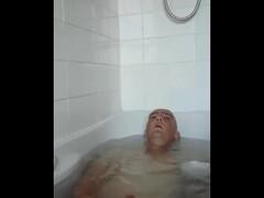 masterbating in the bath Thumb