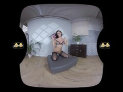 Virtualpee - Pissing In Stockings - VR Porn Thumb