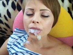 oral creampie compilation from lustful slut Yasmibutt Thumb