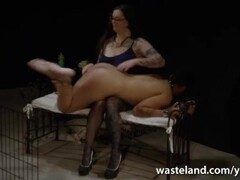 Interracial Lesbian Slave Action With Black Slave And BBW Mistress Thumb
