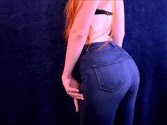 Full Length Video: Sensual Brat Jeans JOI Game Thumb