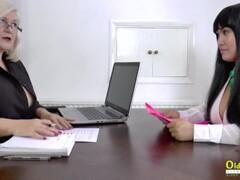 OldNannY Lacey Star Lesbian Theme Sexy Video Thumb
