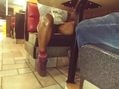 Upskirt Video No panties in public Thumb