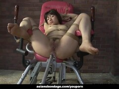 Tied up Japanese pornstar Shiori Natsumi smashed with sex toys4 Thumb