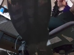 Goth Spike Boots Floor POV Thumb