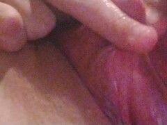 Jerking my big clit, moaning, and talking dirty Thumb