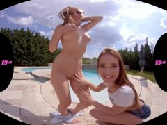 18VR.com Anal Threesome With Neighbor Teen Sluts Mia Ferrari And Lina Mercury Thumb
