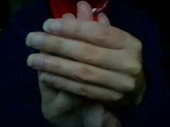 DEBORAH FÉTICHISTE DES MAINS EMBRASSE SUCE LÈCHE SES DOIGTS EROTIC ASMR LIVECAM DEBORAH HAND FETISH  KISSING SUCKING HER FINGERS Thumb