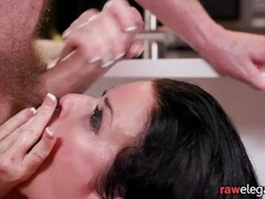 Squirting euro MILF assfucked from behind Thumb