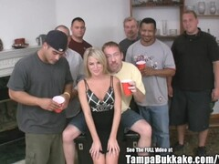 Small Titty Country Blonde Wild Gangbang Thumb