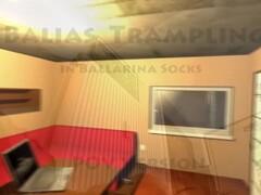 Balias trample in ballarina socks 1 POV Version Thumb