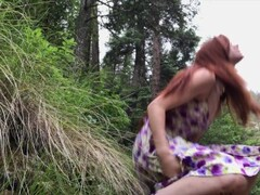 Redhead, Real Orgasm, Really Public River - freckledRED Thumb