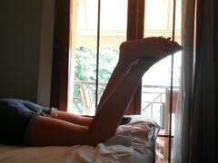 Feet Licking, Rimming and Sucking Dick – Cute Shy Girl Makes Blowjob Thumb