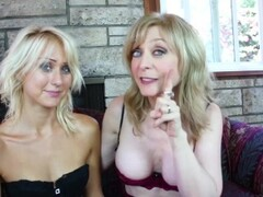 SEXYMOMMA - Teenie Natasha Voya gets seduced by a lusty gilf Thumb