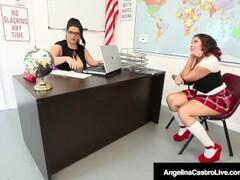 Principal Sara Jay Helps Ms. Castro Punish Student Thumb