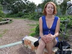 Lange Rede kurzer Spaß mit der bisexuellen Kara Thumb