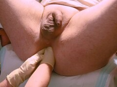 Marcus Pollack gets double fisting and giant speculum from Nurse Thumb