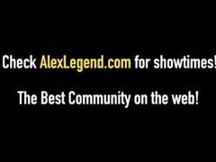 Hot Blonde Skylar Madison Backyard Banged By Alex Legend! Thumb
