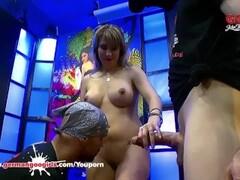 Monster cocks make hot MILF Daphne moan - German Goo Girls Thumb
