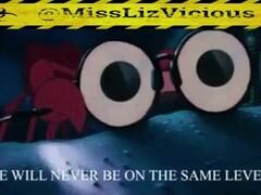 Liz Vicious Haters Song Cumpilation and Dildo Masterbation Thumb