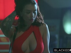 BLACKEDRAW Curvy Beauty Fucks BBC HARD On First Date Thumb
