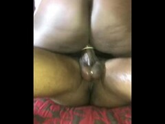 Masked Whore riding dick Thumb