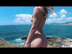 ASS DRIVER XXX - Mallorca with Sasha Bikeyeva. Spain Trip 2018 Thumb
