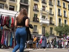 Spanish candid asses street butts hot PAWGs GLUTEUS DIVINUS hidden camera culos Thumb