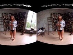 Amateur teens teasing and showing their hot bodies in this VR compilation Thumb