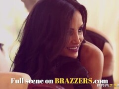 BRAZZERS - Skinny milf India Summer cheats on her husband Johnny Sins Thumb